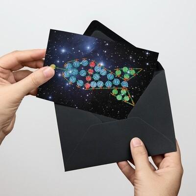 Soli-Postkarte Pfandrakete