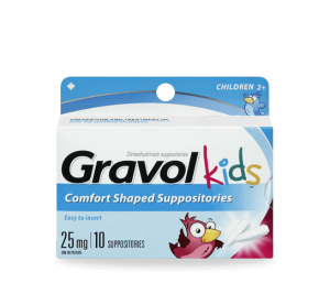 Gravol Suppository 25mgx10 (Children 2+)