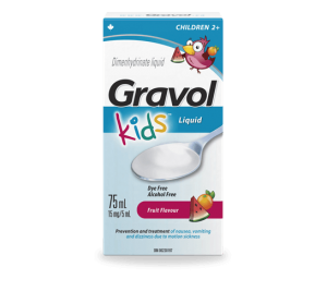 Gravol Liquid Children 15mg/5ml x75ML