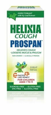 Helixia Prospan Children Cough Syrup, 100ml  [Ages 1-11]