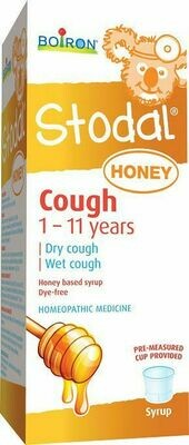 Stodal Children Honey Cough Ages 1-11 years
