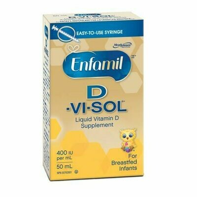 Enfamil D-Vi-Sol Liquid Vitamin D Supplement For Breastfed Infants