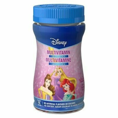 Disney Princess Multivitamin Gummies x 60