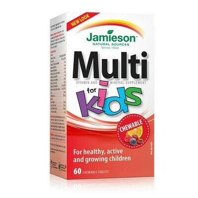Jamieson Multi Vitamin and Mineral Supplement Chewable for Kids