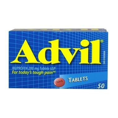 Advil 200mg Tablets x50