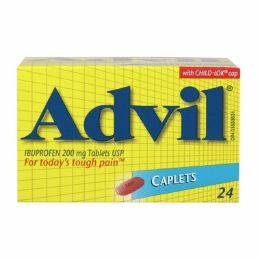 Advil 220mg Caplets x 24