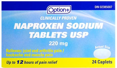 Option+ NAPROXEN SODIUM TB 220MG 24 [Generic Brand]