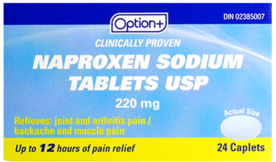 Option+ NAPROXEN SODIUM TB 220MG 24 [Generic Brand]