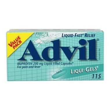 Advil Liqui-Gels 200mg x 115