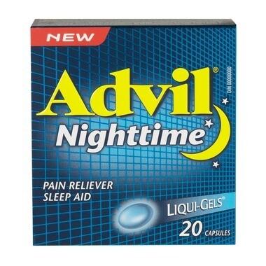 Advil Nighttime Liqui-Gels 20 Capsules