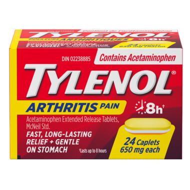 Tylenol Arthritis Pain Caplets x24