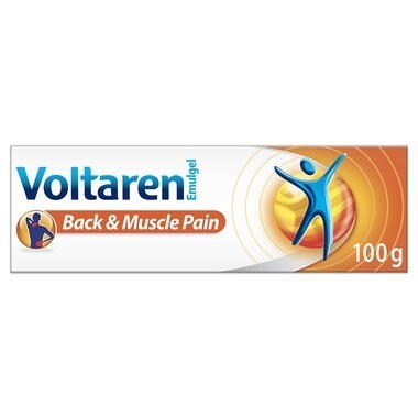 Voltaren Emulgel Back & Muscle Pain 1.16% x 100grams