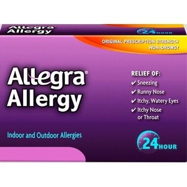Allegra Allergy 24 Hour Relief x18 Tabs
