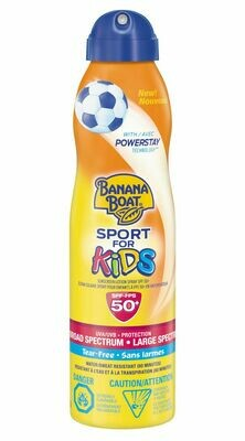 Banana Boat Sport for Kids' Sunscreen Lotion Spray 170grams