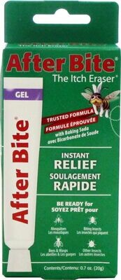 After Bite Itch Eraser Instant Relief Trusted Formula Gel