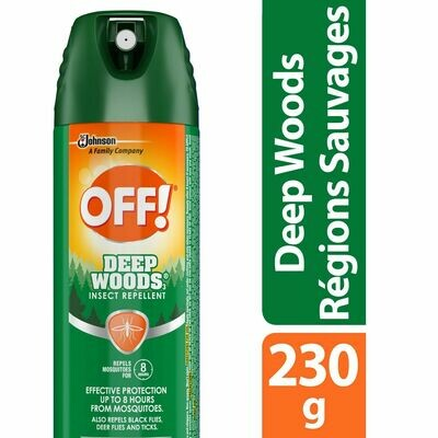 OFF! Deep Woods Mosquito Insect Repellent Spray, 230g