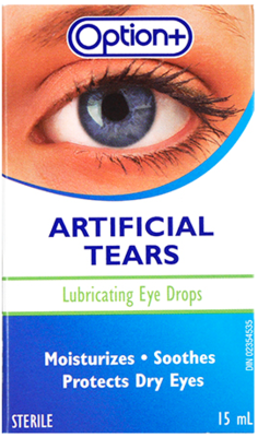 Option+ Lubricating Eye Drops 15ML