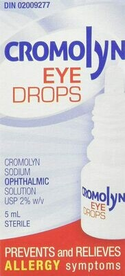 Cromolyn Allergy Eye Drops 5ML
