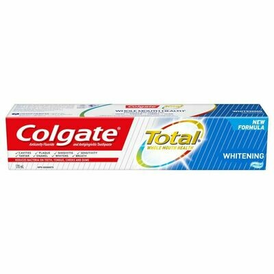 Colgate Total Whitening Toothpaste 170ML