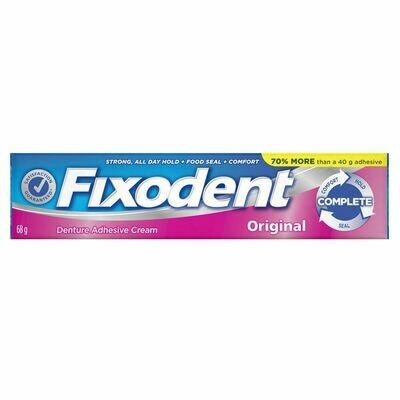 Fixodent Complete Original Denture Adhesive Cream 68g