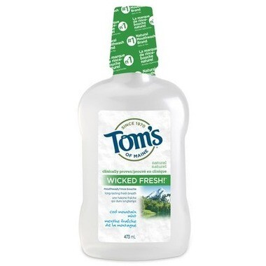 Tom's of Maine Wicked Fresh! Mouthwash 473ML