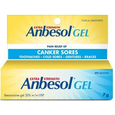 Anbesol Exra Strength Gel 20% Topical Anesthetic