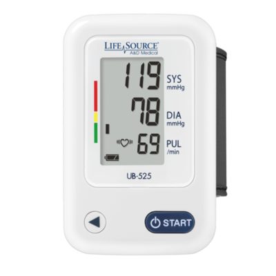 LifeSource Wrist Blood Pressure Monitor - UB-525CN