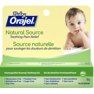 Orajel Naturals Teething Gel Homeopathic Remedy 9.5grams
