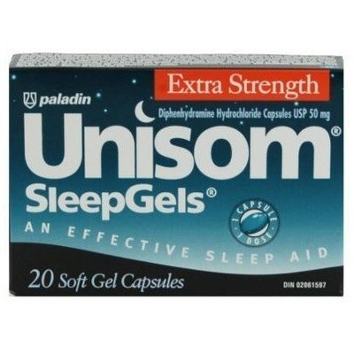 Unisom Extra Strength Sleep Gels x20