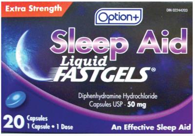 SLEEP-AID XST 50MG CAPSULE 20