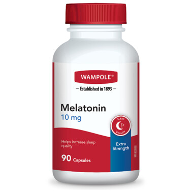 Wampole Melatonin 10 mg Extra Strength x90