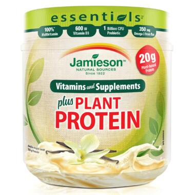 Jamieson Essentials plus Plant Based Protein Vanilla Maple
