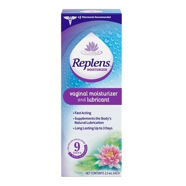 Replens Long-Lasting Vaginal Moisturizer and Lubricant (3 applications)