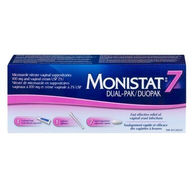 Monistat 7 Dual-Pack 7x9grams