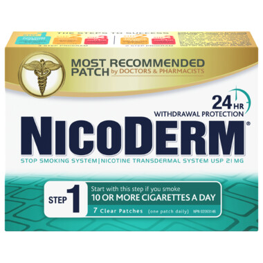 Nicoderm Clear Step 1 Nicotine Patches x7