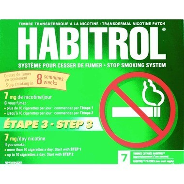 Habitrol Stop Smoking System Step 3 x7 Patches