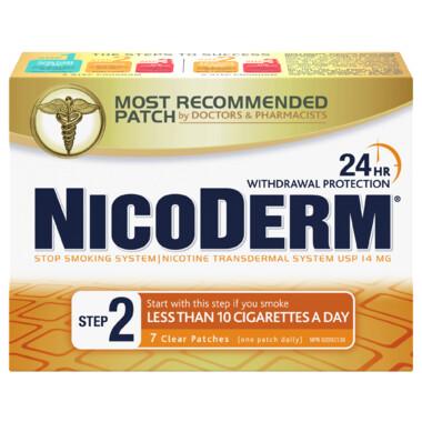 Nicoderm Clear Step 2 Nicotine Patches x7