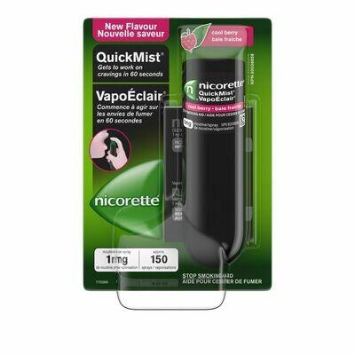 Nicorette Mouth Spray, Coolberry, 1mg (150 sprays)