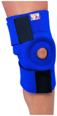 NEOPRENE KNEE WRAP WITH PATELLAR STABILIZING PAD (Online Only, May take 1-2 Business Days)