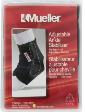 Mueller Adjustable Ankle Stabilizer One Size (Fits Left or Right) (Online Only, May take 1-2 Business Days)