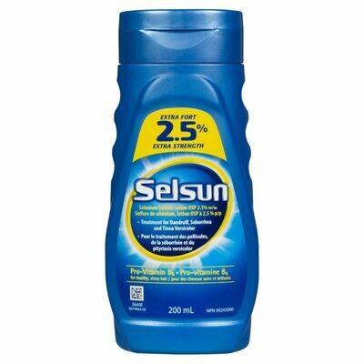 Selsun 2.5% Extra Strength Selenium Sulfide Lotion