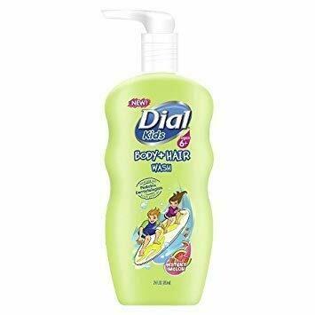Dial Kids Body + Hair Wash, Watery Melon 354ML