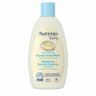 Aveeno Baby Eczema Care Wash, Unscented 236ML