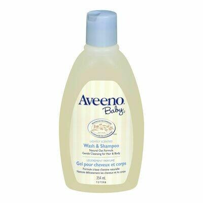 AVEENO® Baby Lightly Scented Natural Oat Formula Wash & Shampoo
