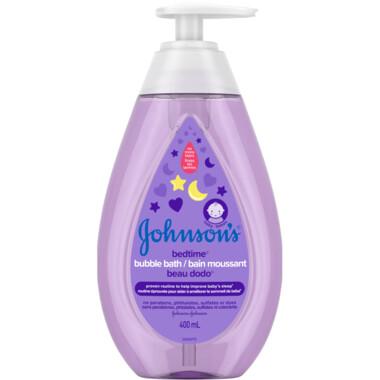Johnson's Bedtime Bubble Bath 400ML