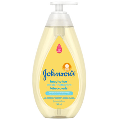 Johnson's Baby Lotion, Head-to-Toe 500ML