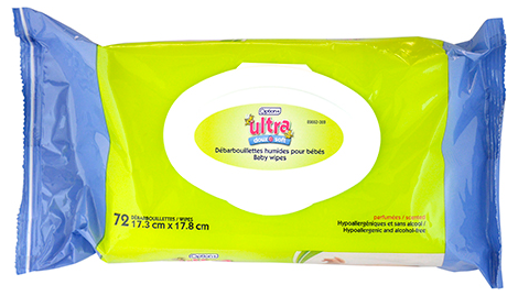 BABY WIPES SCENTED 72