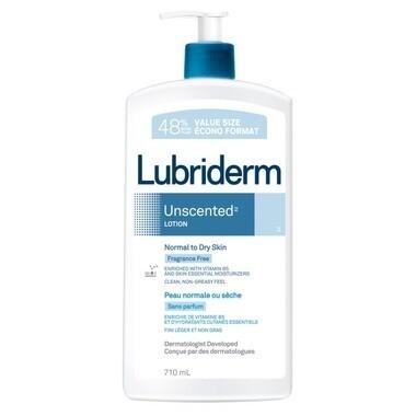 Lubriderm Unscented Moisture 710ML