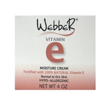 Webber Vitamin E Moisture Cream 120ML