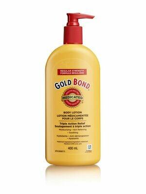 Gold Bond Medicated Regular Strength Body Lotion 400ML